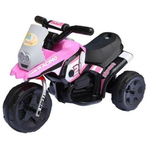 3 kerekű elektromos kisMotor gyerekeknek rózsaszín
