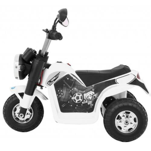 Chopper elektromos kisMotor gyerekeknek (3 kerekű) oldalról