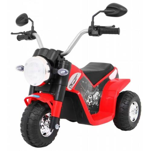Chopper elektromos kisMotor gyerekeknek (3 kerekű) piros