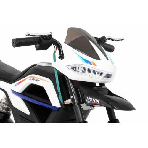 Night Rider elektromos kisMotor gyerekeknek (segédkerekekkel) eleje