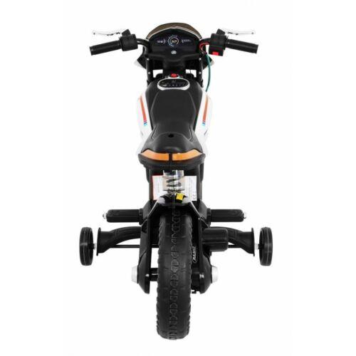 Night Rider elektromos kisMotor gyerekeknek (segédkerekekkel) felülről