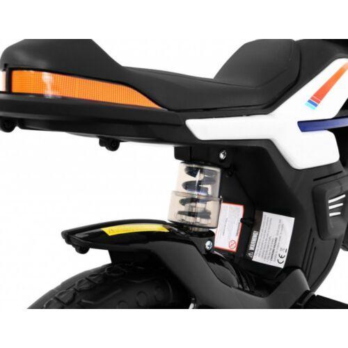 Night Rider elektromos kisMotor gyerekeknek (segédkerekekkel) lengéscsillapító