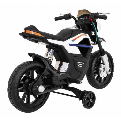 Night Rider elektromos kisMotor gyerekeknek (segédkerekekkel) oldalról
