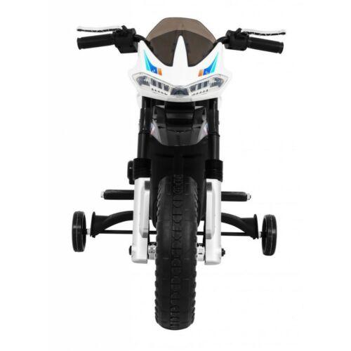 Night Rider elektromos kisMotor gyerekeknek (segédkerekekkel) szemből