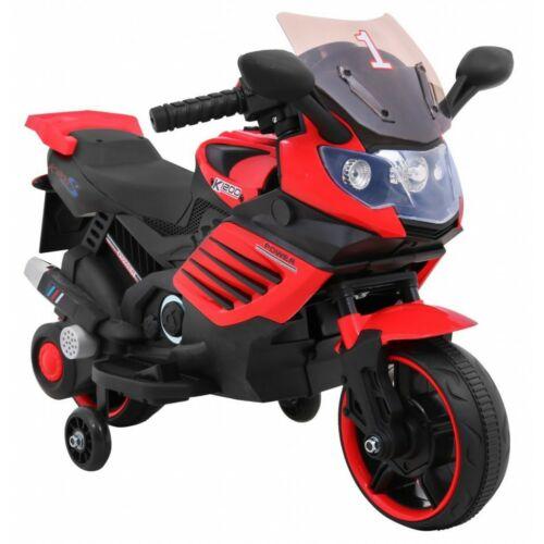 Power elektromos kisMotor gyerekeknek (segédkerekekkel) oldalról