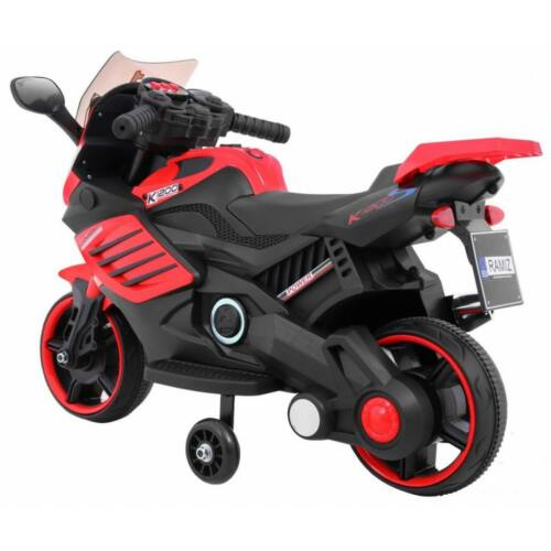 Power elektromos kisMotor gyerekeknek (segédkerekekkel) oldaról