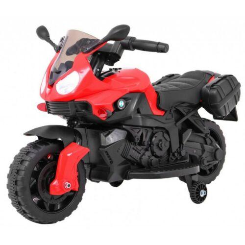 Elektromos kisMotor gyerekeknek (mini segédkerekekkel) piros