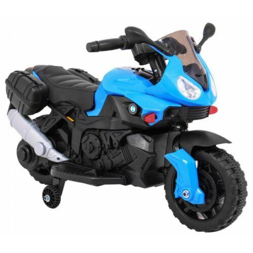 Elektromos kisMotor gyerekeknek (mini segédkerekekkel) oldalról
