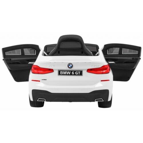 BMW 6 GT elektromos kisautó gyerekeknek (távirányítóval, 1 személyes) hátulról