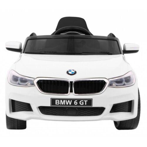BMW 6 GT elektromos kisautó gyerekeknek (távirányítóval, 1 személyes) elölről
