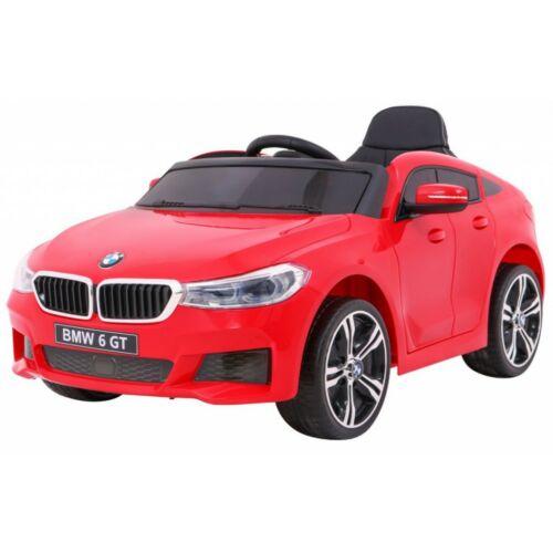 BMW 6 GT elektromos kisautó gyerekeknek (távirányítóval, 1 személyes) piros