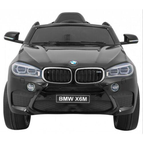 BMW X6M elektromos kisautó gyerekeknek (távirányítóval, 1 személyes) elölről