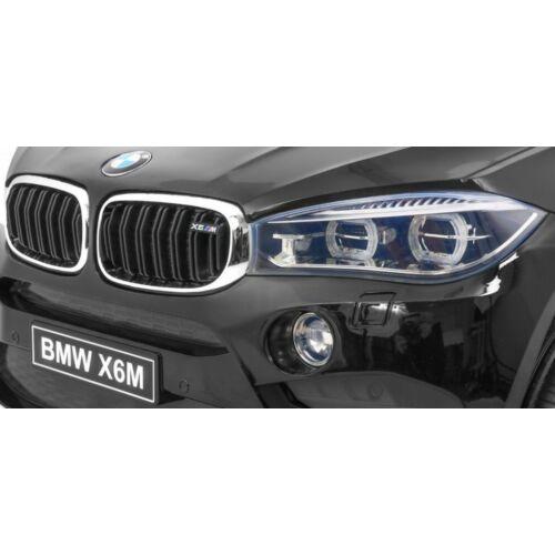 BMW X6M elektromos kisautó gyerekeknek (távirányítóval, 1 személyes) első lámpa