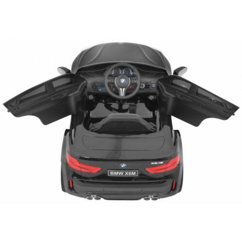 BMW X6M elektromos kisautó gyerekeknek (távirányítóval, 1 személyes) felülről