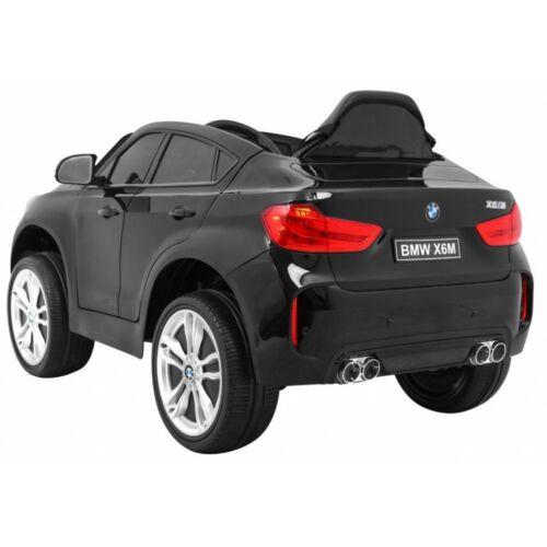 BMW X6M elektromos kisautó gyerekeknek (távirányítóval, 1 személyes) hátulról