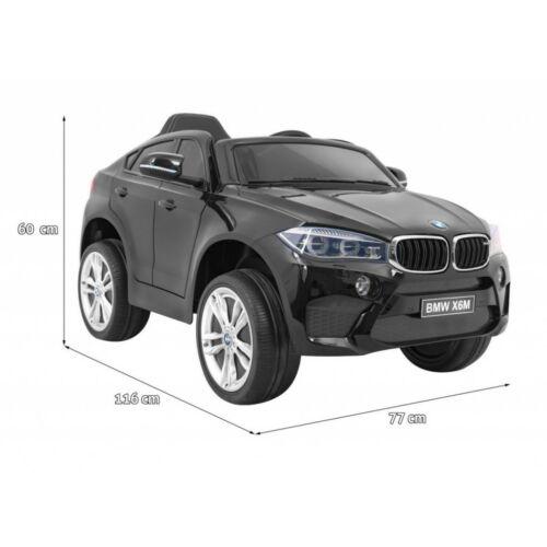 BMW X6M elektromos kisautó gyerekeknek (távirányítóval, 1 személyes) méretei