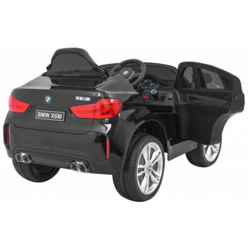 BMW X6M elektromos kisautó gyerekeknek (távirányítóval, 1 személyes) oldalról