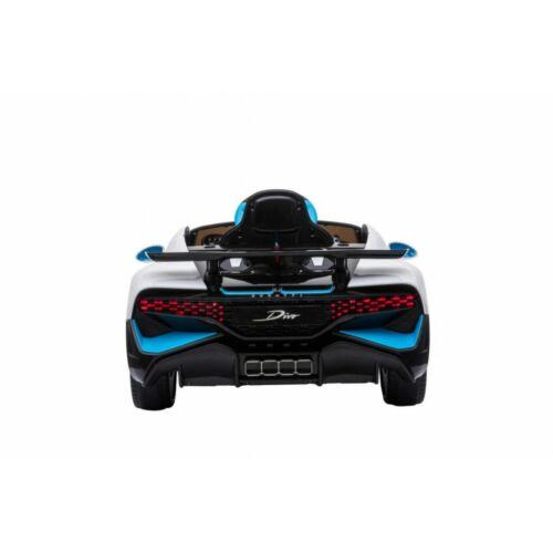 Bugatti Divo elektromos kisautó gyerekeknek (távirányítóval, 1 személyes) hátulról