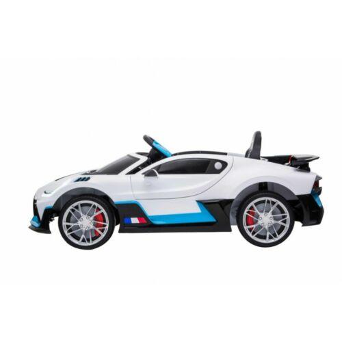 Bugatti Divo elektromos kisautó gyerekeknek (távirányítóval, 1 személyes) oldalról
