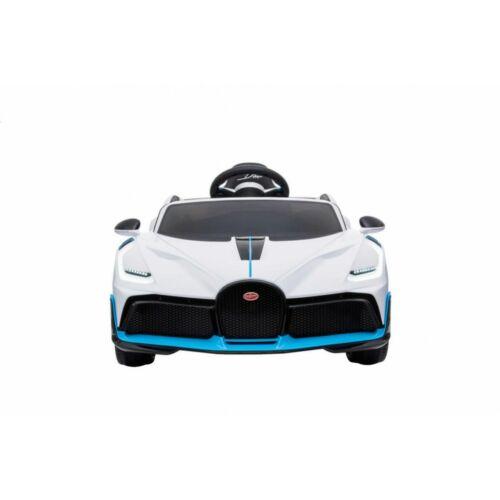 Bugatti Divo elektromos kisautó gyerekeknek (távirányítóval, 1 személyes) elölről