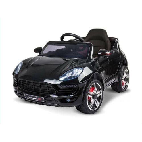 Coronet S elektromos kisautó gyerekeknek (távirányítóval, 1 személyes) fekete
