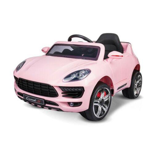 Coronet S elektromos kisautó gyerekeknek (távirányítóval, 1 személyes) rózsaszín