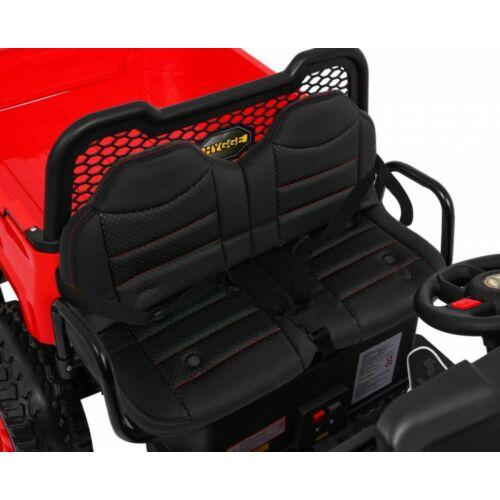 Farmer elektromos kisteherautó gyerekeknek (távirányítóval, 1 személyes) piros ülése