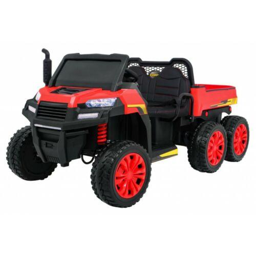 Farmer elektromos kisteherautó gyerekeknek (távirányítóval, 1 személyes) piros