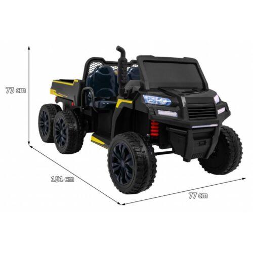 Farmer elektromos kisteherautó gyerekeknek (távirányítóval, 1 személyes) méretek