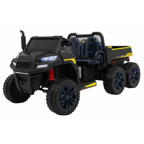 Farmer elektromos kisteherautó gyerekeknek (távirányítóval, 1 személyes) fekete