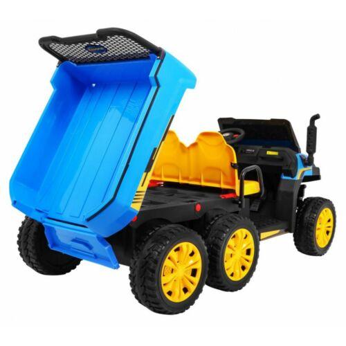 Farmer elektromos kisteherautó gyerekeknek (távirányítóval, 1 személyes) billenthető rakodó rész