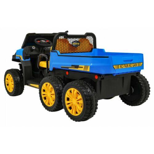 Farmer elektromos kisteherautó gyerekeknek (távirányítóval, 1 személyes) oldalról
