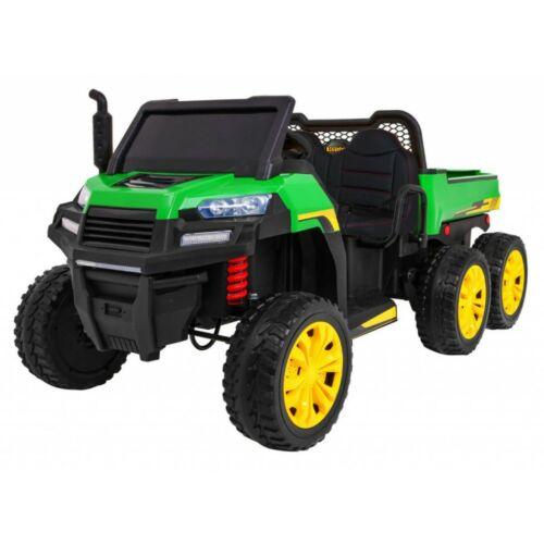 Farmer elektromos kisteherautó gyerekeknek (távirányítóval, 1 személyes) zöld