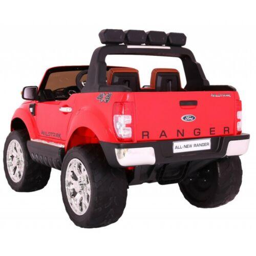 Ford Ranger Lift 4x4 elektromos kisautó gyerekeknek (távirányítóval, 1 személyes) piros hátulról
