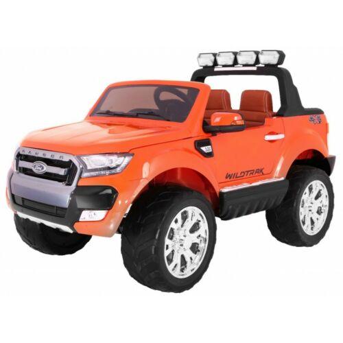 Ford Ranger Lift 4x4 elektromos kisautó gyerekeknek (távirányítóval, 1 személyes) lakkozott narancssárga