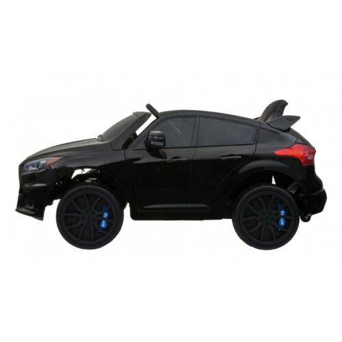Ford Focus RS elektromos kisautó gyerekeknek (távirányítóval, 1 személyes) oldalról