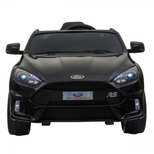 Ford Focus RS elektromos kisautó gyerekeknek (távirányítóval, 1 személyes) szemből