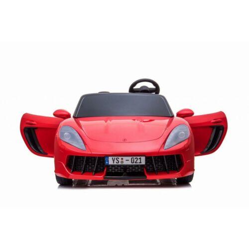 Perfecta elektromos kisautó gyerekeknek (2 személyes) piros előlről