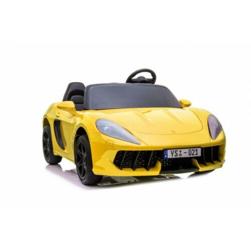 Perfecta elektromos kisautó gyerekeknek (2 személyes) sárga