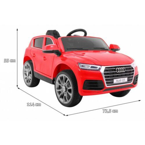 Audi Q5-SUV LIFT elektromos kisautó gyerekeknek (távirányítóval, 1 személyes) méretei