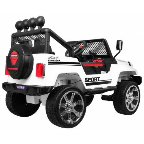 Raptor DRIFTER 4x4 elektromos kisautó gyerekeknek (távirányítóval, 1 személyes) oldalról