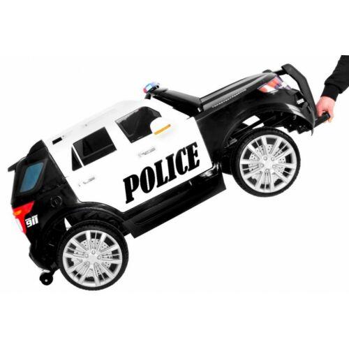 SUV lengyel rendőr elektromos kisautó gyerekeknek (távirányítóval, 1 személyes) szállítás