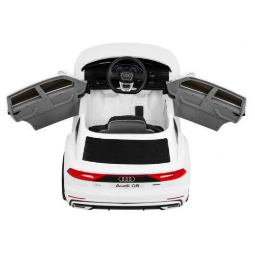 Audi Q8 elektromos kisautó gyerekeknek (távirányítóval, 1 személyes) felülről