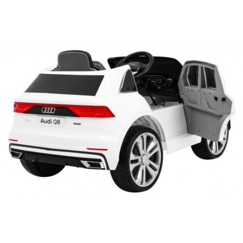 Audi Q8 elektromos kisautó gyerekeknek (távirányítóval, 1 személyes) oldalról