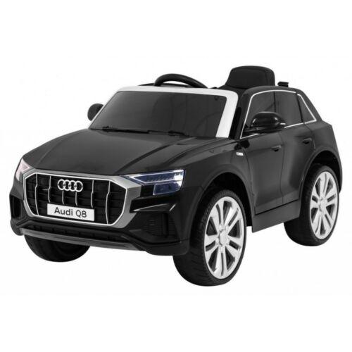 Audi Q8 elektromos kisautó gyerekeknek (távirányítóval, 1 személyes) fekete