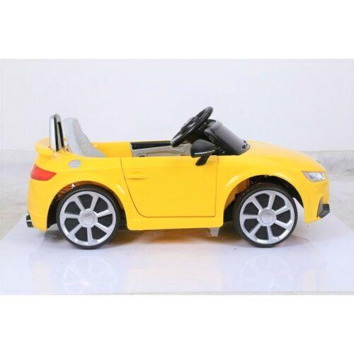 Audi TT Quatro RS elektromos kisautó gyerekeknek (távirányítóval, 1 személyes) oldalról