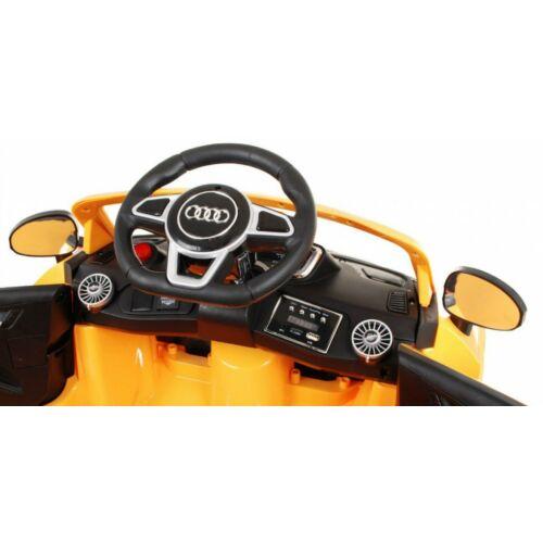Audi TTS Roadster elektromos kisautó gyerekeknek (távirányítóval, 1 személyes) műszerfal