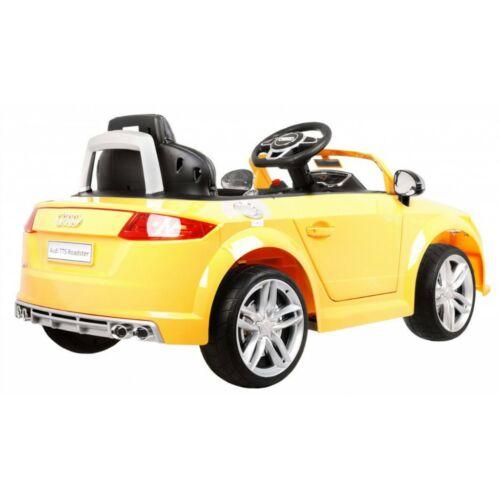 Audi TTS Roadster elektromos kisautó gyerekeknek (távirányítóval, 1 személyes) oldalról