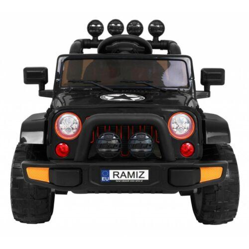 Full Time off-road 4WD elektromos kisautó gyerekeknek (távirányítóval, 1 személyes) elölről