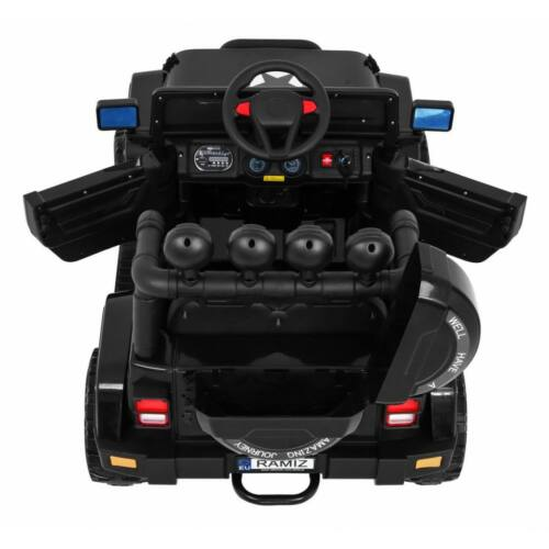 Full Time off-road 4WD elektromos kisautó gyerekeknek (távirányítóval, 1 személyes) felülről